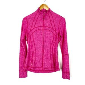 Lululemon Define Jacket Heathered Pink Size 8
